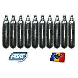 Set 10 fiole CO2 12 grame ASG