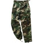 Pantaloni camuflaj BDU Woodland [Mil-Tec]