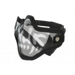Masca metalica protectie Black/Skull