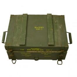 Cutie militara originala din lemn mica
