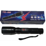 Baston electrosoc TW306 cu lanterna + husa
