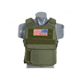 PT Tactical Body Armor - OLIVE