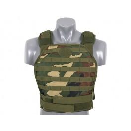 Vesta Body Armor Plate Carrier Woodland