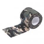 Banda camuflaj Woodland textil