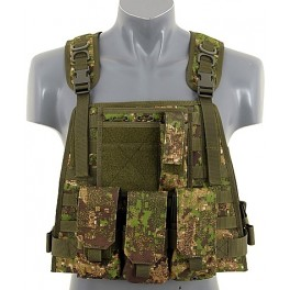 VESTA PLATE CARRIER HARNESS PG CAMO PENCOTT GREENZONE
