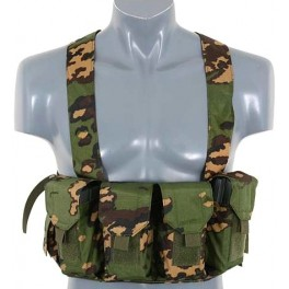VESTA HARNASAMENT LIGHTWEIGHT CHEST RIG RC CAMO