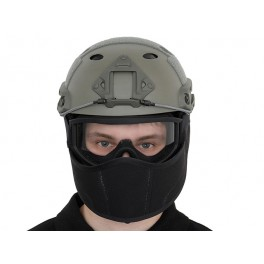 Masca protectie casca FAST - BLACK