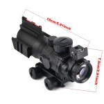 4x32 Acog Riflescope 20mm