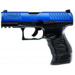 PISTOL Umarex T4E Walther PPQ M2 BLUE SLIDE calibrul .43 CO2 7.5 Jouli