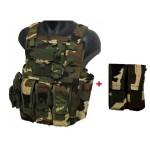 Vesta asalt AAV FSBE Navy Seal Assault camuflaj padure